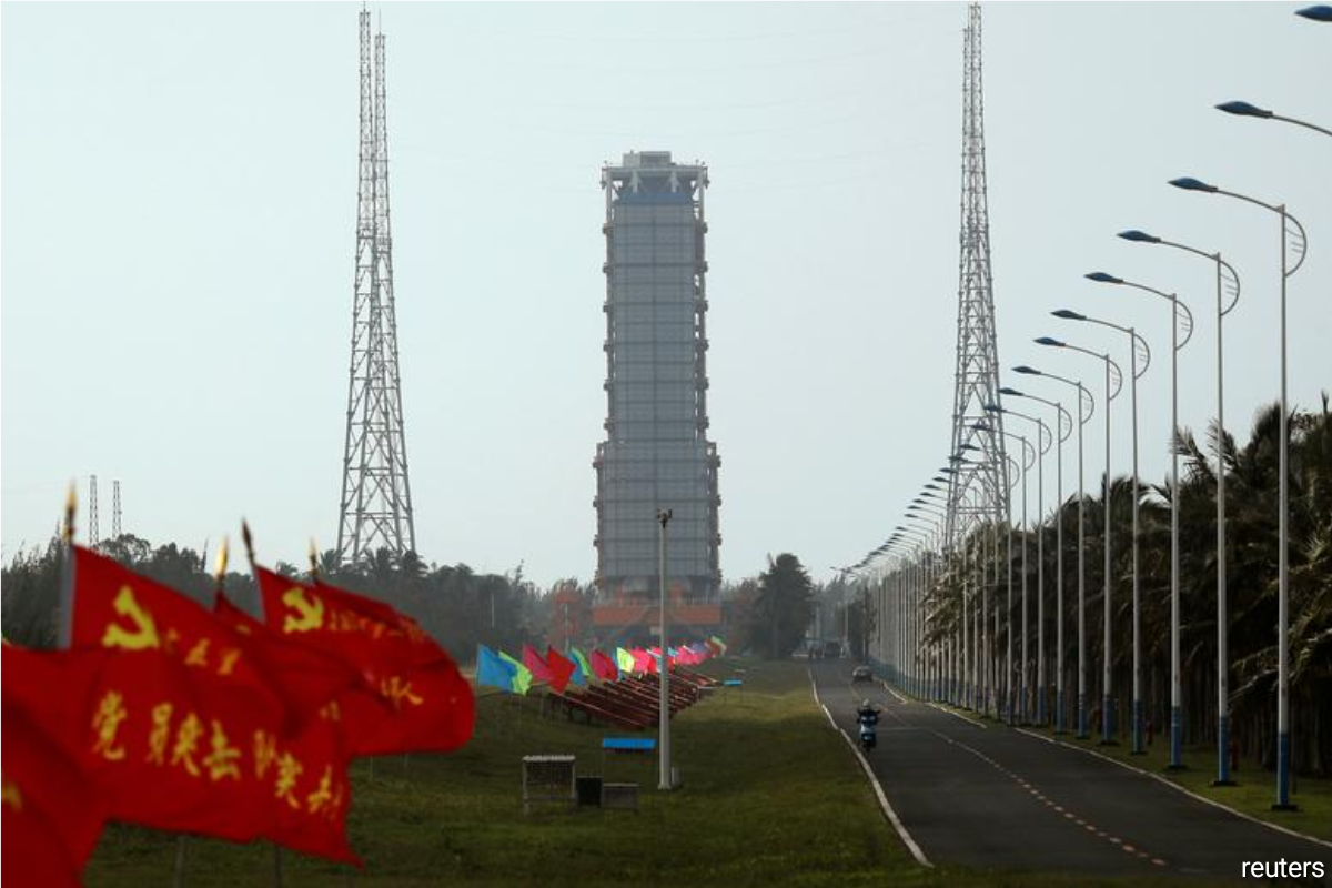 Wenchang Space Launch Center in South China's Hainan Province.