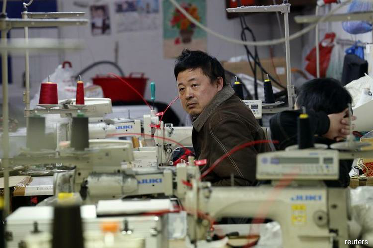 China factory price inflation slips as trade war pressure grows