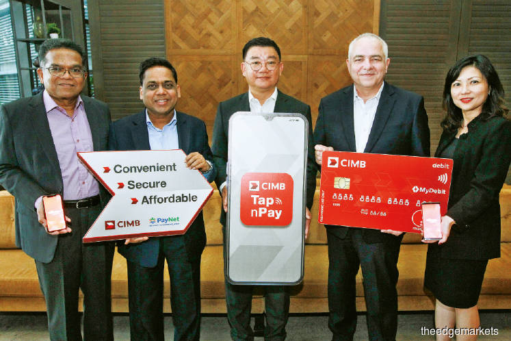 CIMB launches Tap n Pay for debit card transactions