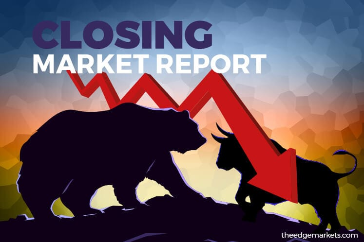 KLCI down as constituent stocks among top losers