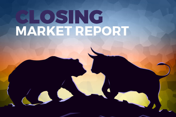 KLCI closes slightly higher, but ends lower in first quarter due to global economic concerns