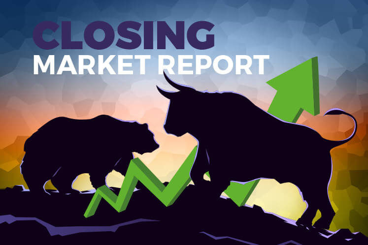 KLCI ends higher after falling below key support level