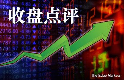 银行和油气股带动 马股全天扬18.79点