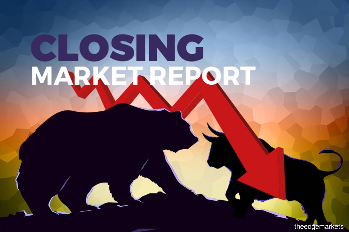 KLCI lower at Bursa halt as Top Glove, China shares drop