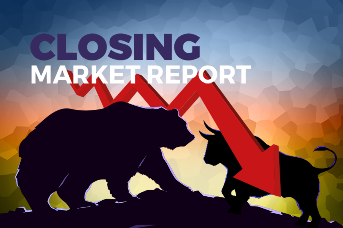 Trading volume tops 27 billion at new record high, while KLCI heads lower