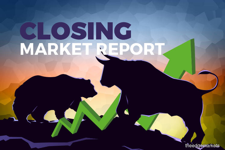 FBM KLCI pares losses in the final hour to close in positive territory