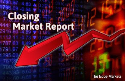 KLCI falls as Asian shares track crude oil losses