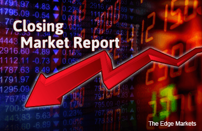 KLCI in red on China share fall, Petronas counters