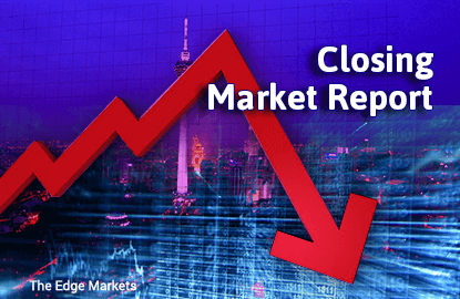 KLCI ends slightly lower after overnight fall on Wall Street, supported by firmer oil price
