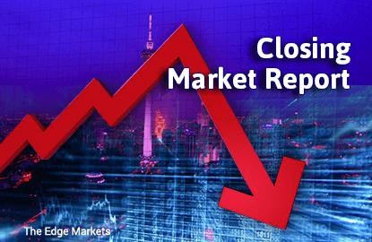 KLCI down on lower crude oil prices, profit taking