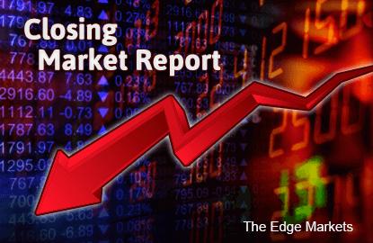 KLCI falls 1.79% on global economy growth concerns