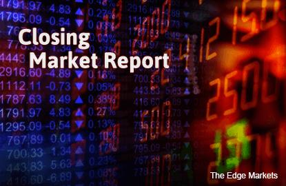 KLCI closes marginally lower despite heavy selling in the region