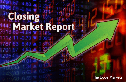 KLCI rises as Bursa small caps see profit taking