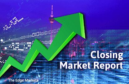 KLCI higher after volatile trade, ringgit strengthens