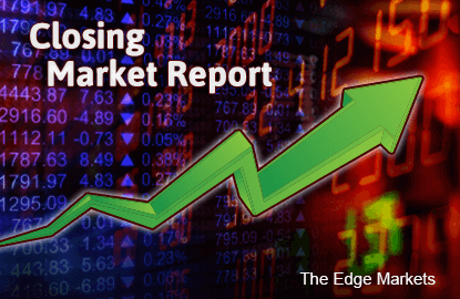KLCI ends modestly higher as funds see blue chips with upside potential