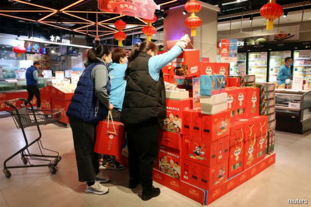The Lunar New Year, which starts on Friday, is ordinarily the world's biggest annual migration, when hundreds of millions of China's migrant workers return to home towns, but travel warnings over virus risks have deterred many this year.