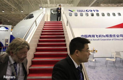 Chinese planemaker chases Xi's dream to challenge Airbus, Boeing