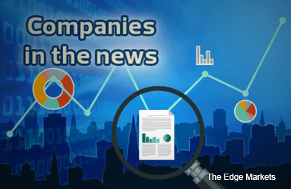 Affin Holdings, MAHB, Matrix Concepts, Scomi Energy, Salcon, MPHB Capital, and The Media Shoppe