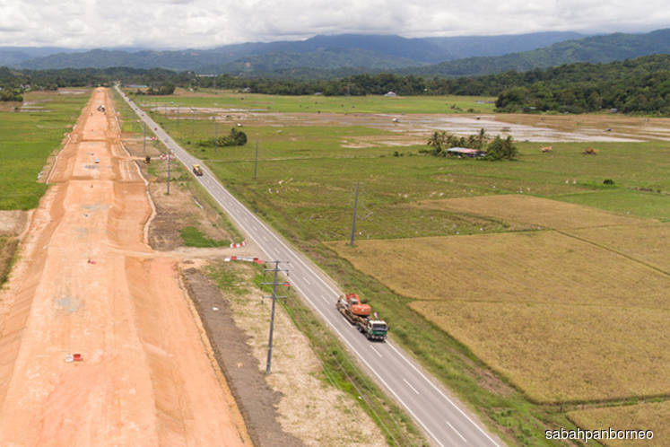 Pan Borneo Highway Sabah is now 12.4% complete