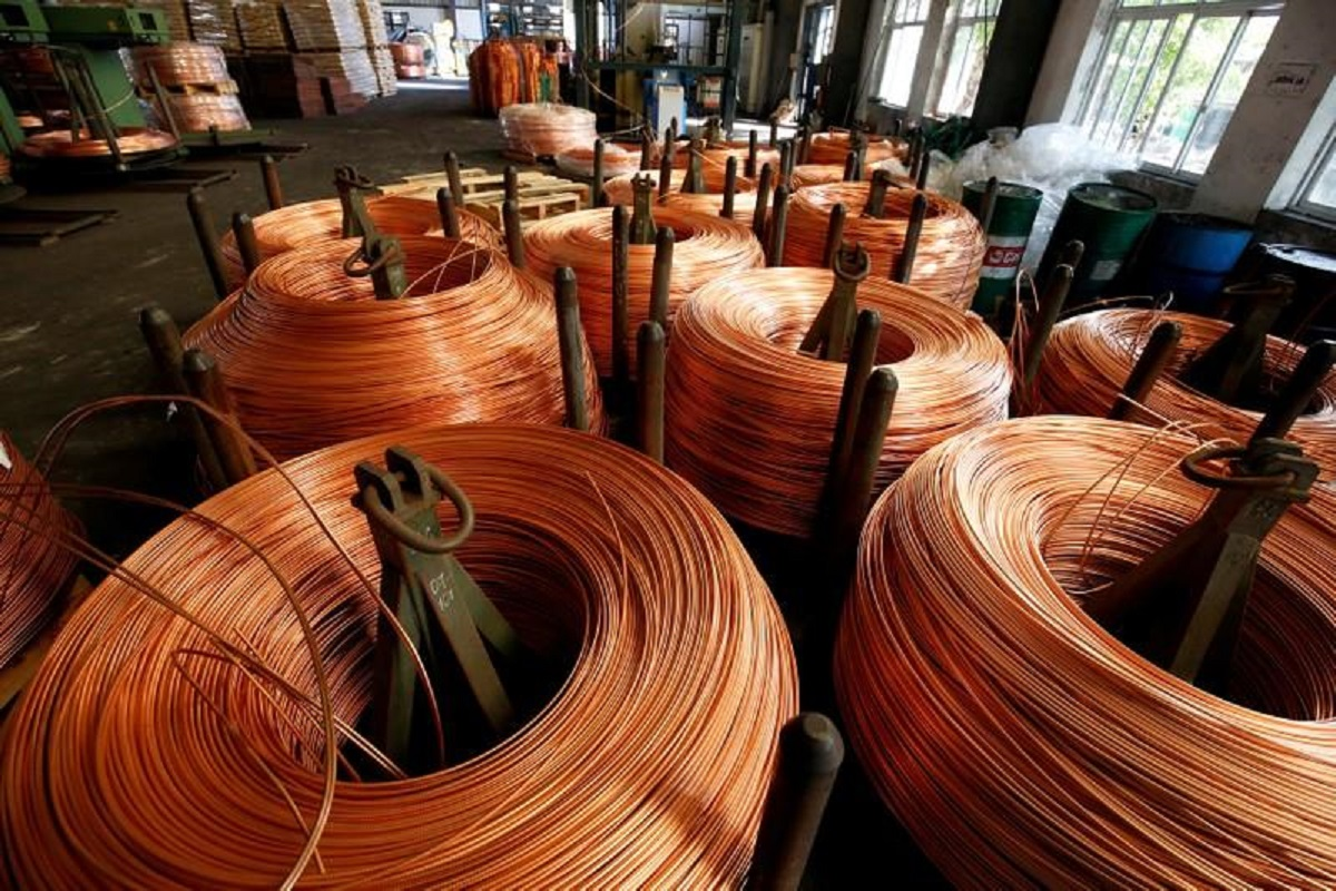 Copper jumps to record as growth bets supercharge commodities