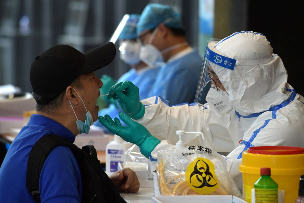 Recent Covid-19 outbreak in China's Nanjing linked to flight from Russia