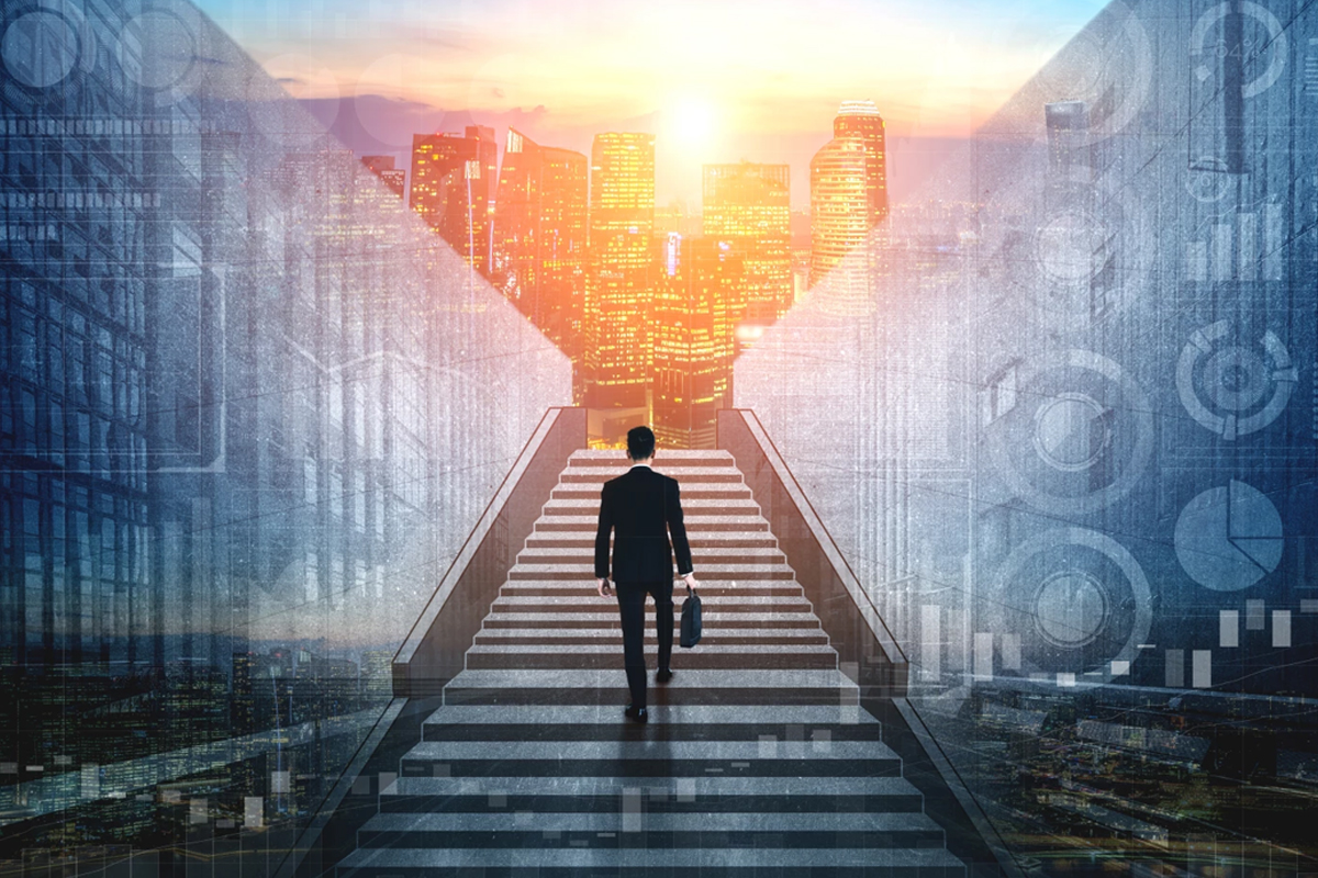 Scaling the heights of corporate success