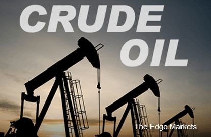 Oil prices fall on U.S. crude stocks build, but equity rally supports