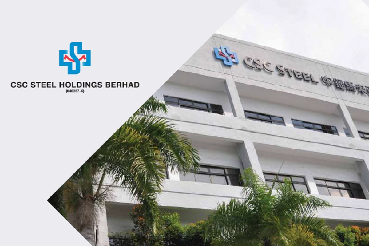 CSC Steel's 4Q net profit surges more than three times to RM21.43m