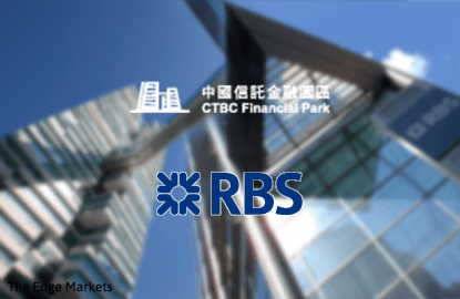 CTBC to become first Taiwanese bank in Malaysia upon buying RBS' assets