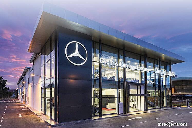 C&C Bintang sells stake in Mercedes-Benz Malaysia