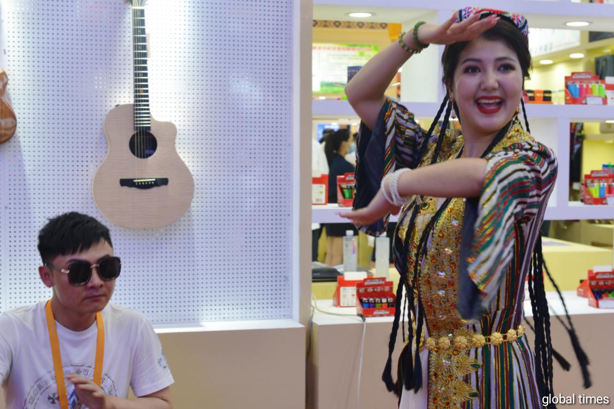Xinjiang in China International Consumer Products Expo (CICPE)