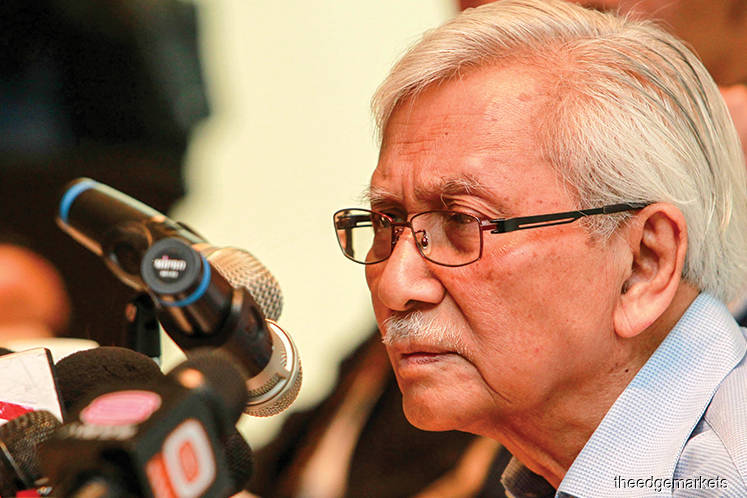 Najib ignored advice from govt agency on ECRL, says Daim
