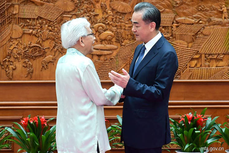 Daim meets Chinese Foreign Minister Wang Yi in Beijing