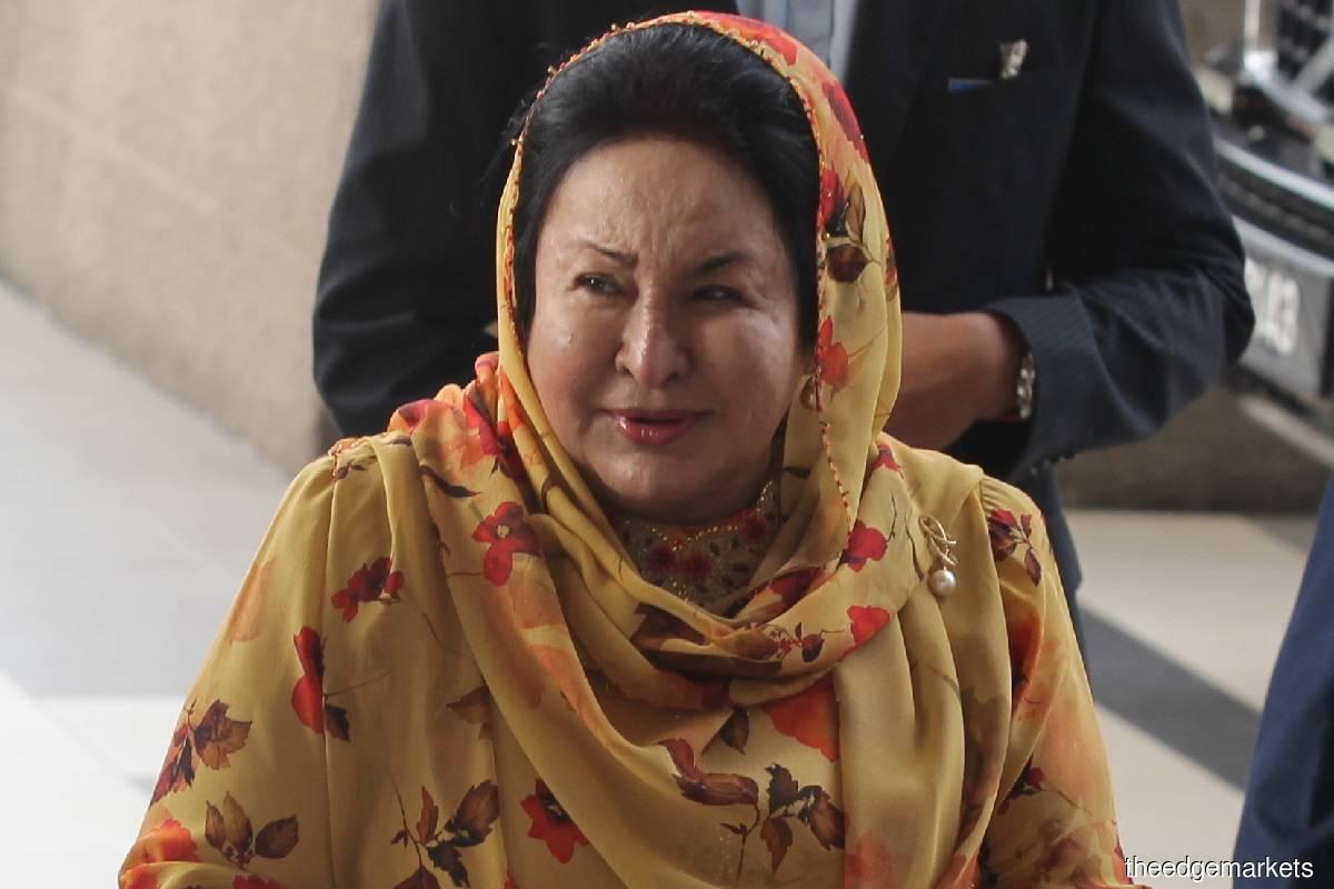 Datin Seri Rosmah Mansor (Photo by Suhaimi Yusuf)