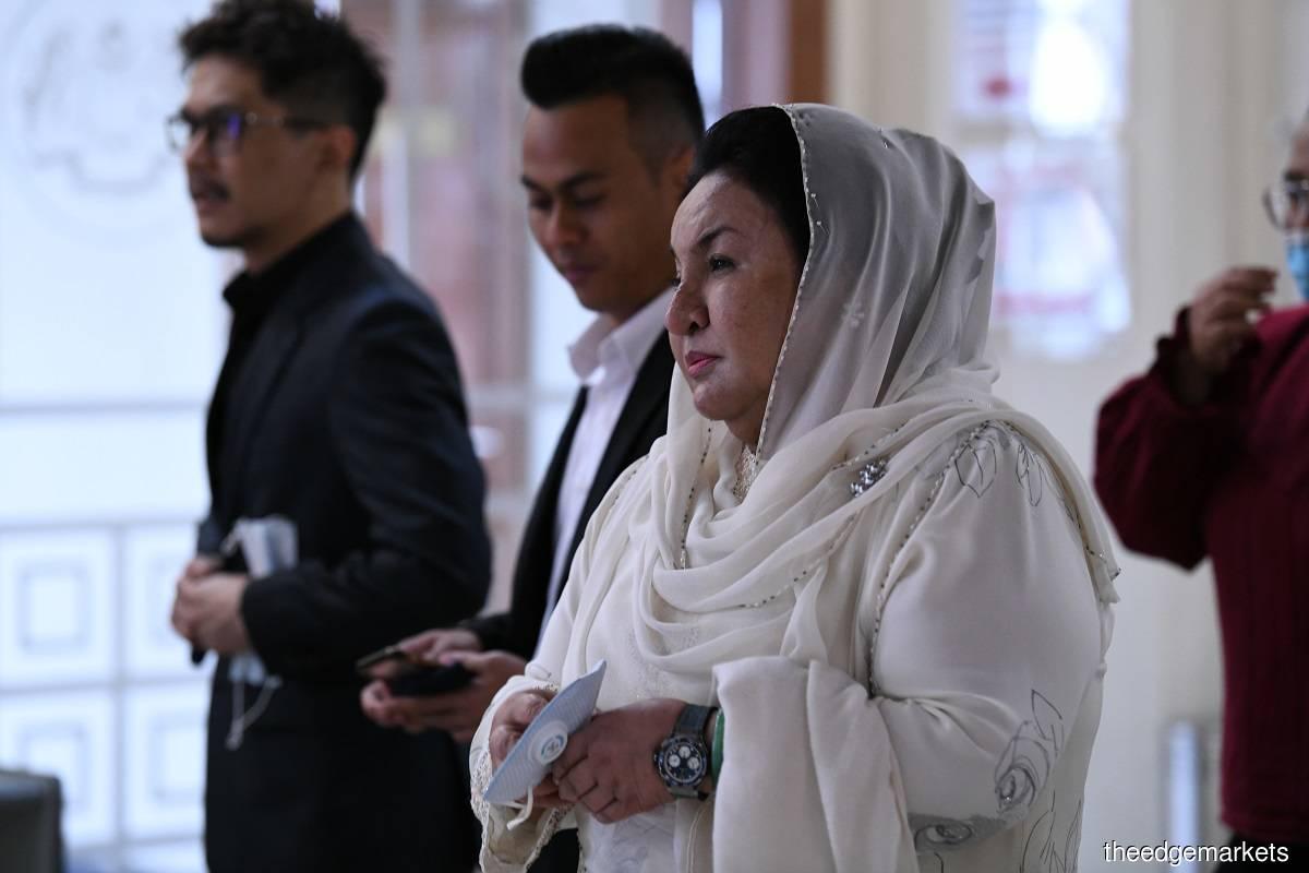 Datin Seri Rosmah Mansor (Photo by Sam Fong)