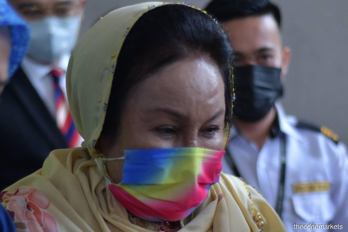 Datin Seri Rosmah Mansor (Photo by Suhaimi Yusuf/The Edge)