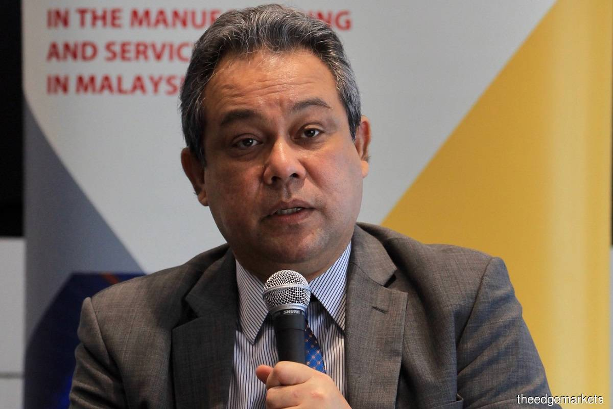 Datuk Azman Mahmud (Photo by Shahrin Yahya/The Edge)