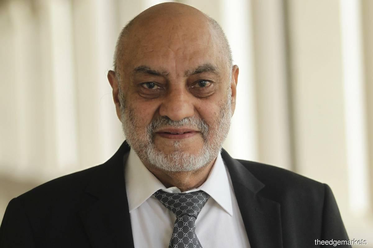 Datuk Dr Gurdial Singh Nijar (Photo by Suhaimi Yusuf/The Edge)