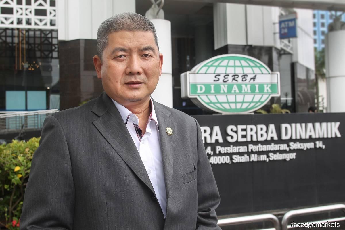 Datuk Dr Mohd Abdul Karim Abdullah (摄影:Kenny Yap/The Edge)