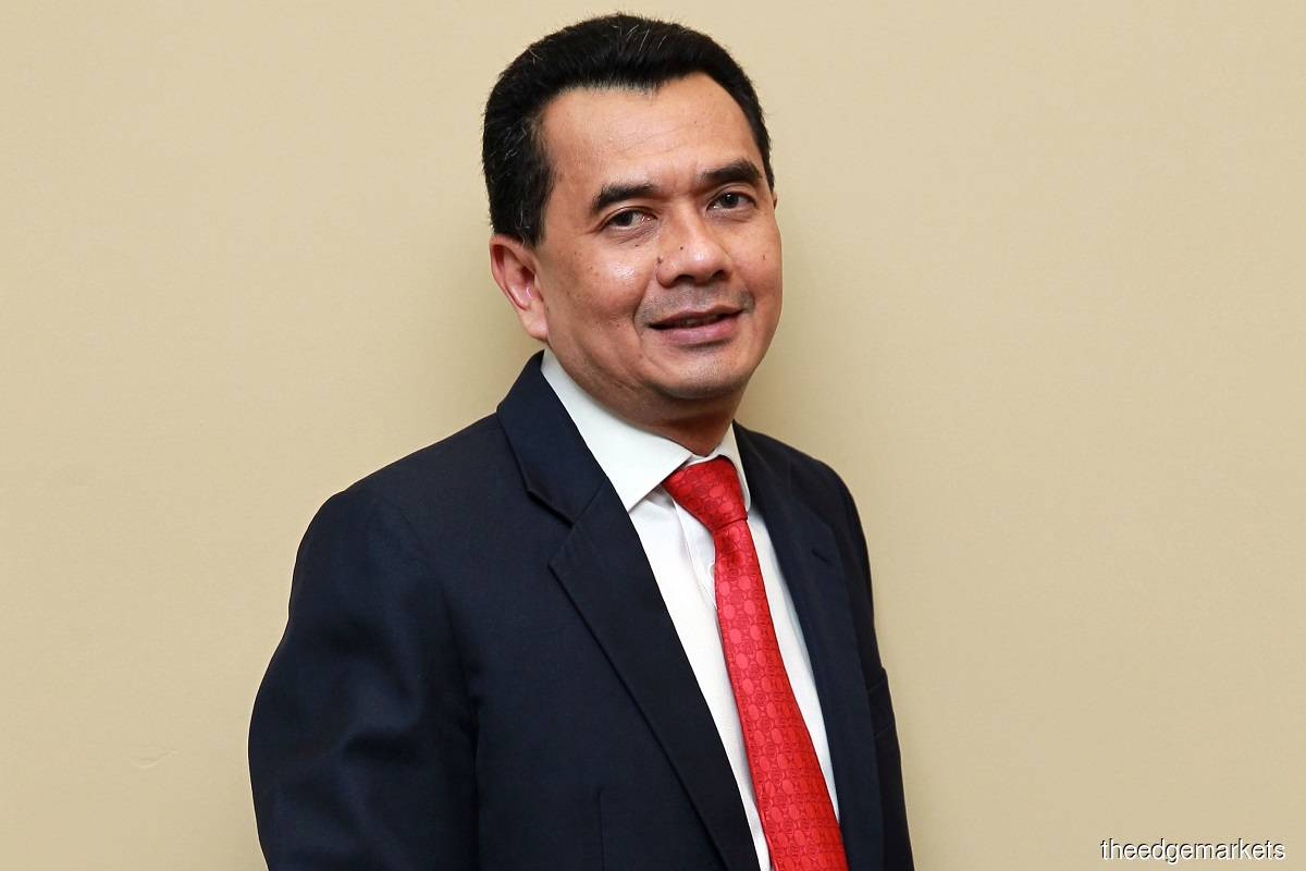 Datuk Seri Amrin Awaluddin (Photo by Shahrin Yahya/The Edge)