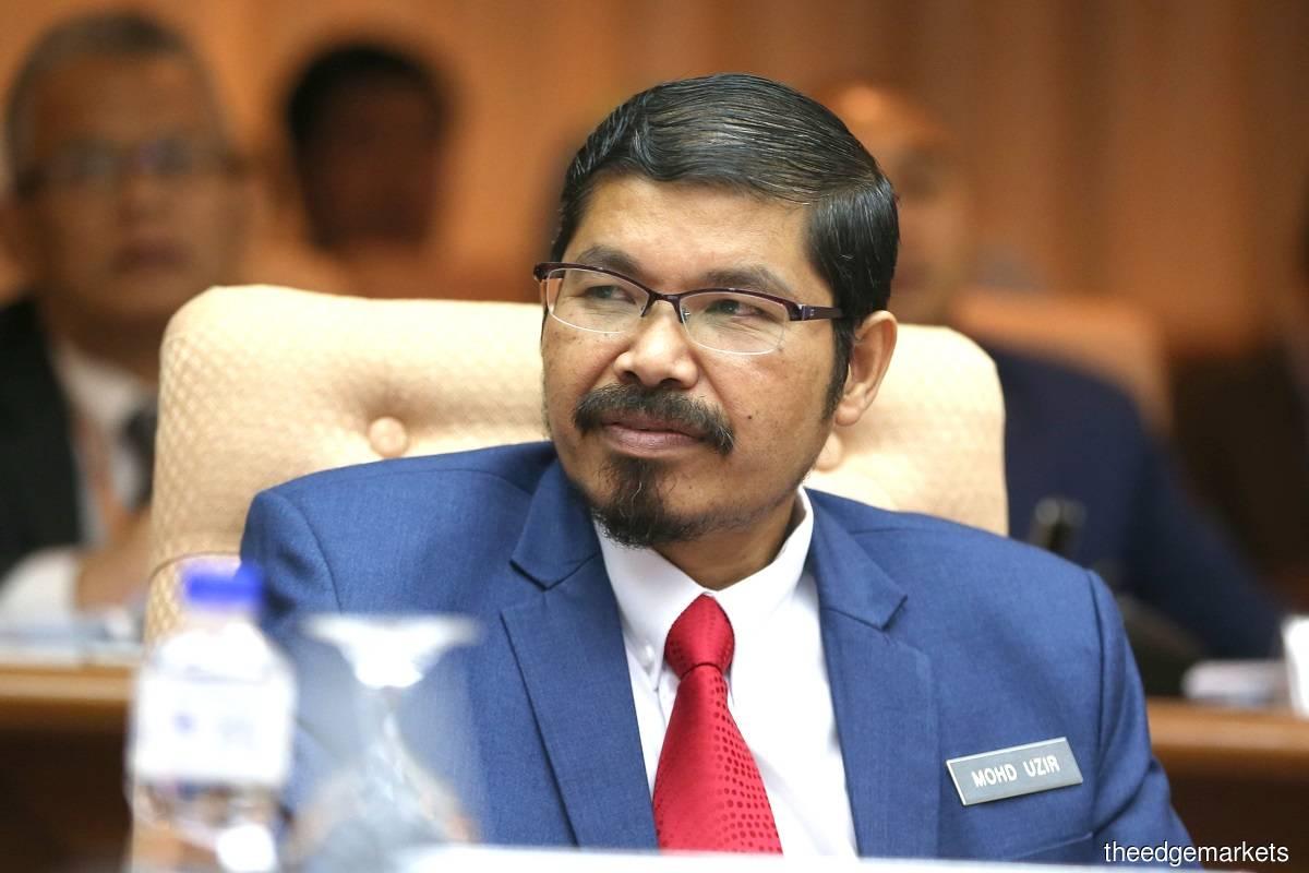 Datuk Seri Dr Mohd Uzir Mahidin(摄影Sam Fong/The Edge)
