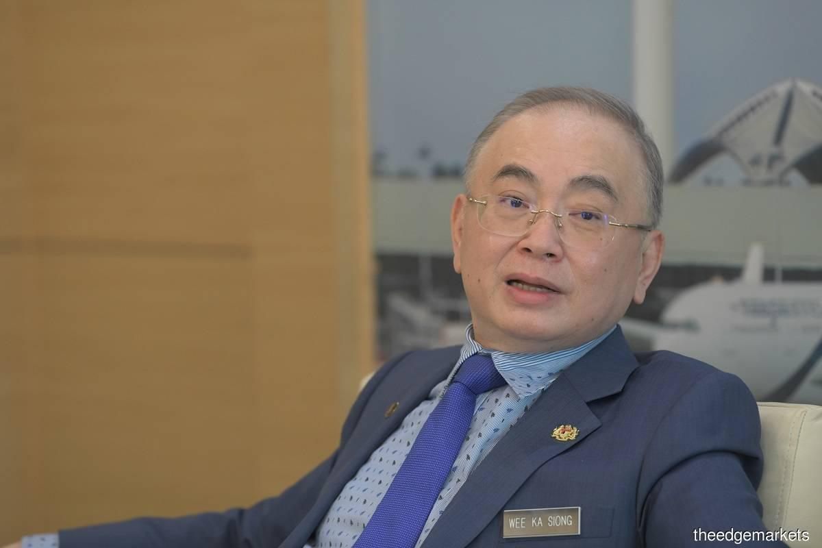Datuk Seri Dr Wee Ka Siong (Photo by Sam Fong/The Edge)