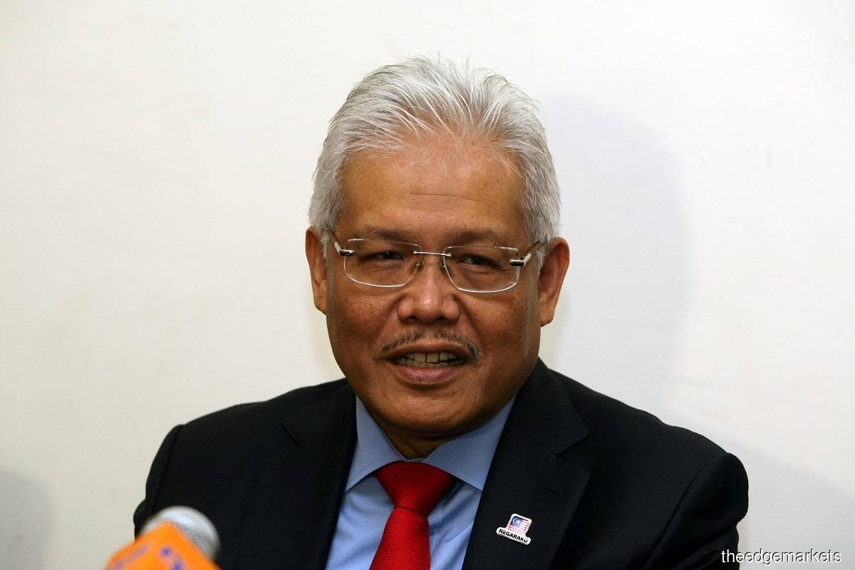Datuk Seri Hamzah Zainudin (Photo by Suhaimi Yusuf/The Edge)