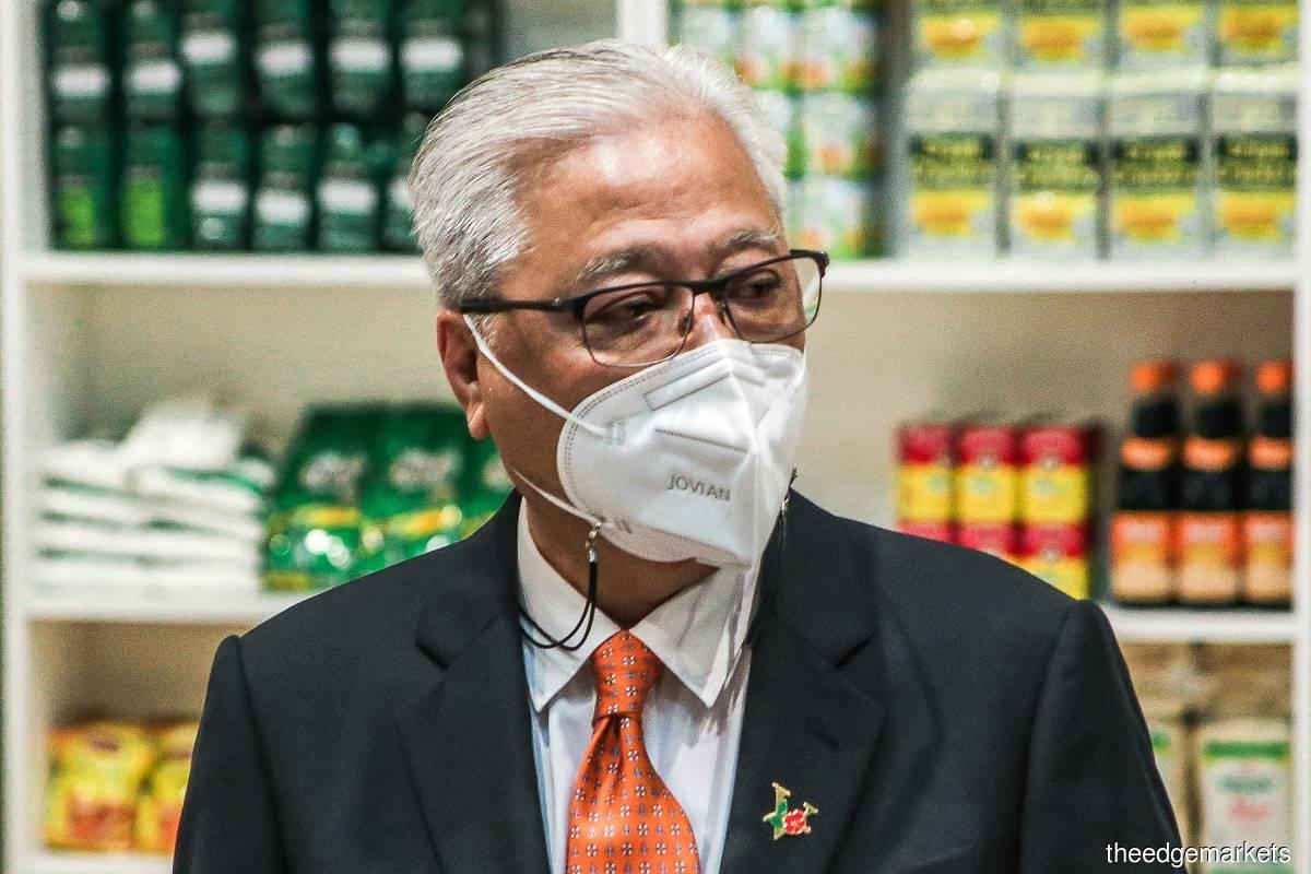 Datuk Seri Ismail Sabri Yaakob (Photo by Zahid Izzani Mohd Said/The Edge)