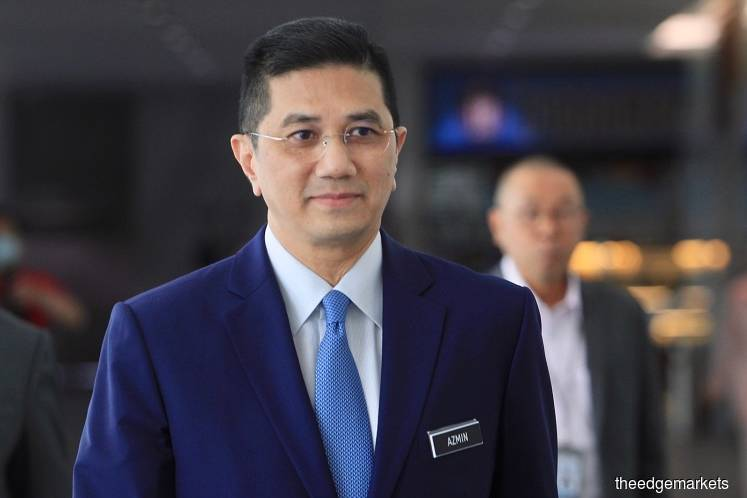 Travel agency couldn't serve writ on Azmin's children, court told