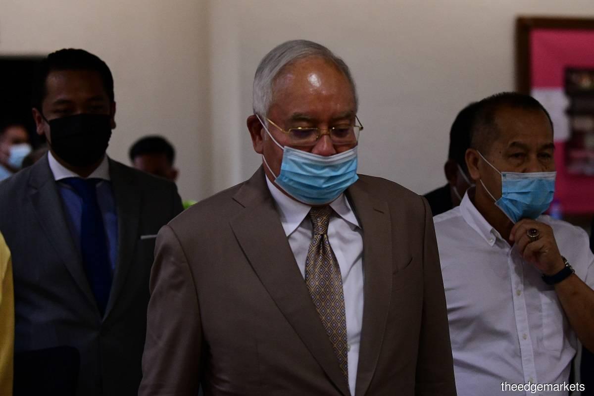 Datuk Seri Najib Razak (Photo by Patrick Goh)