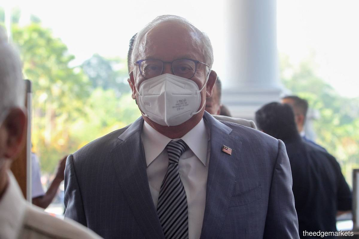 Datuk Seri Najib Razak (Photo by Shahril Basri/The Edge)