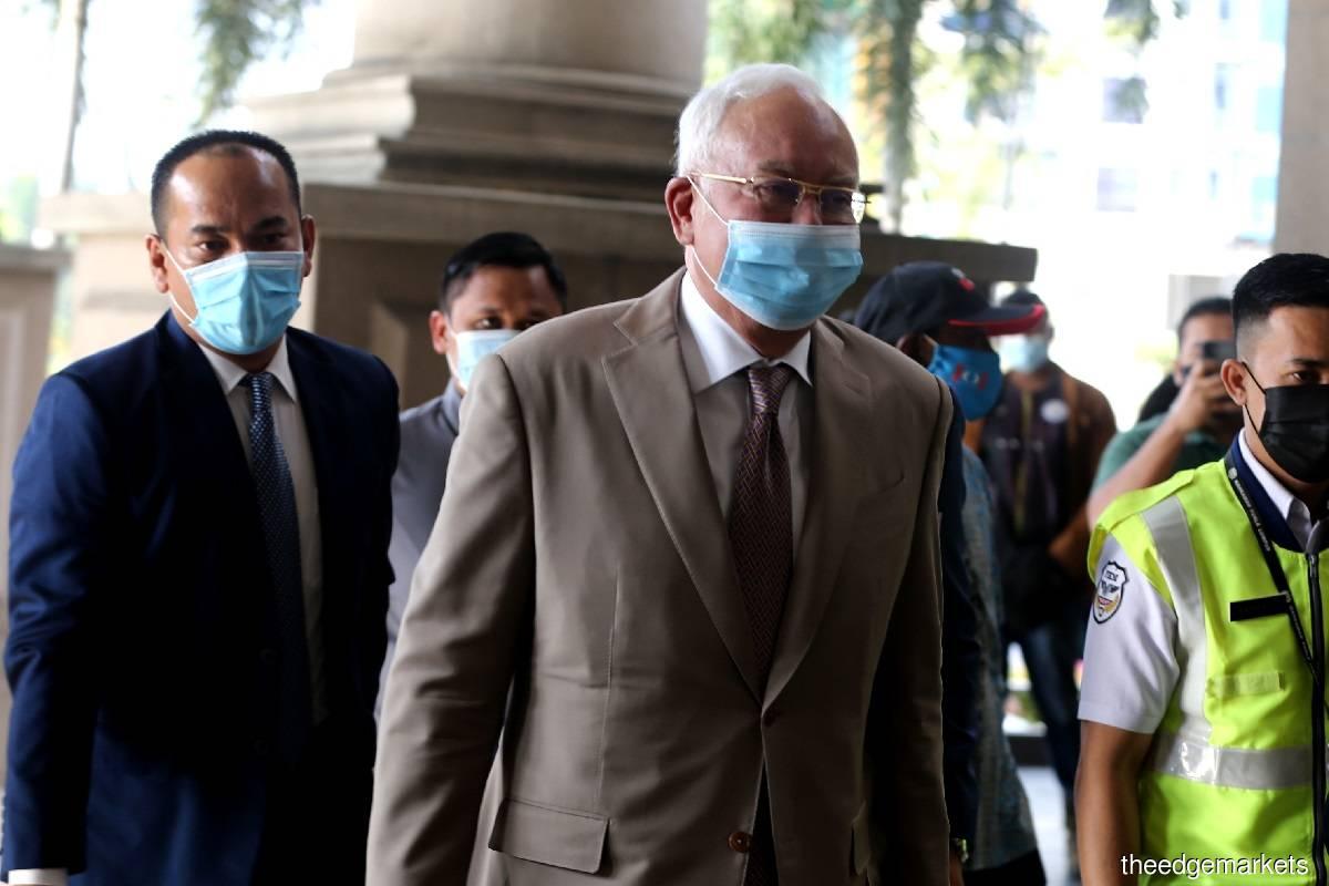 Datuk Seri Najib Razak (Photo by Shahrin Yahya)