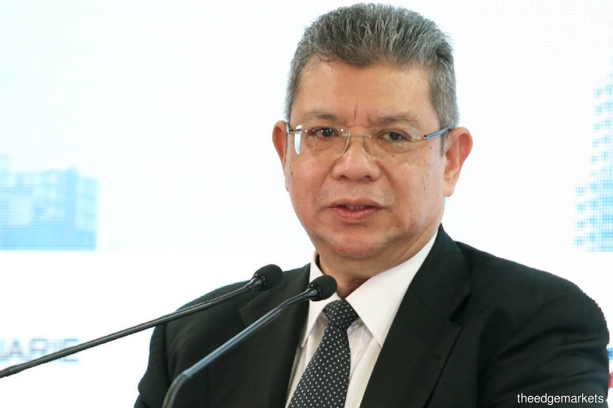 Datuk Saifuddin Abdullah (Photo by Sam Fong/The Edge)