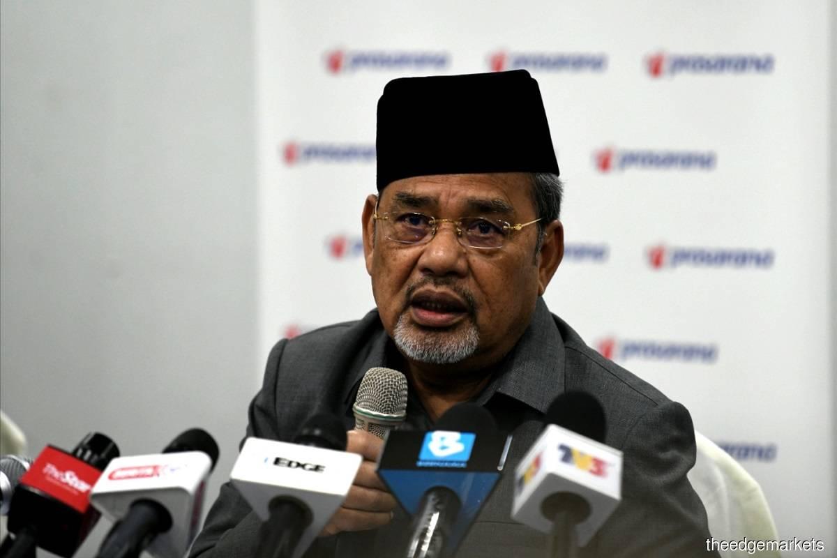 Datuk Seri Tajuddin Abdul Rahman(摄影:Shahrin Yahya)